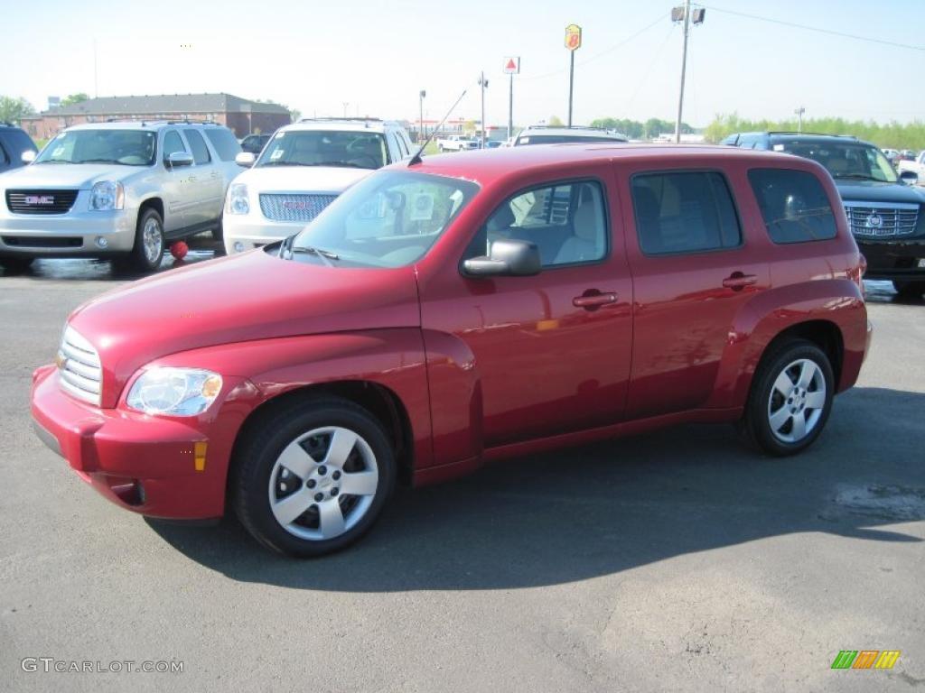 2010 Crystal Red Metallic Tintcoat Chevrolet Hhr Ls 28595163