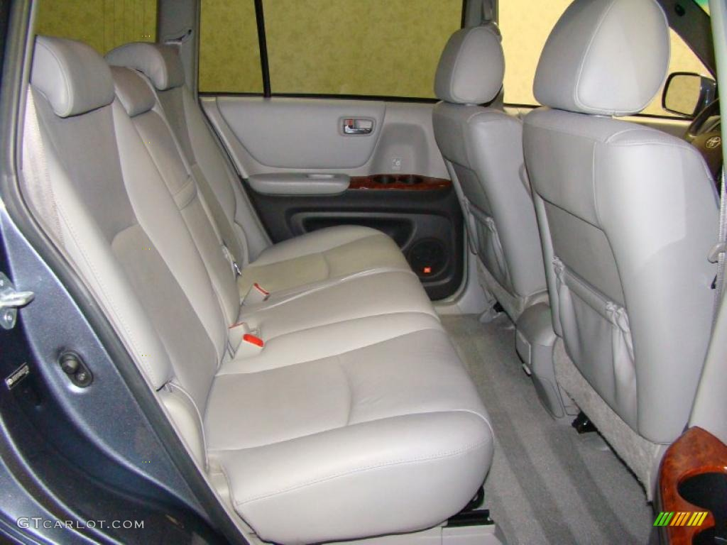 2007 bluestone metallic toyota highlander limited 4wd 28594812 photo 13 car. Black Bedroom Furniture Sets. Home Design Ideas