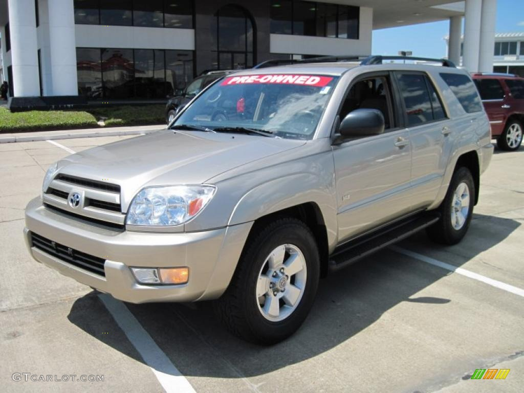 2004 dorado gold pearl toyota 4runner sr5 28659600 photo 4 car color galleries. Black Bedroom Furniture Sets. Home Design Ideas