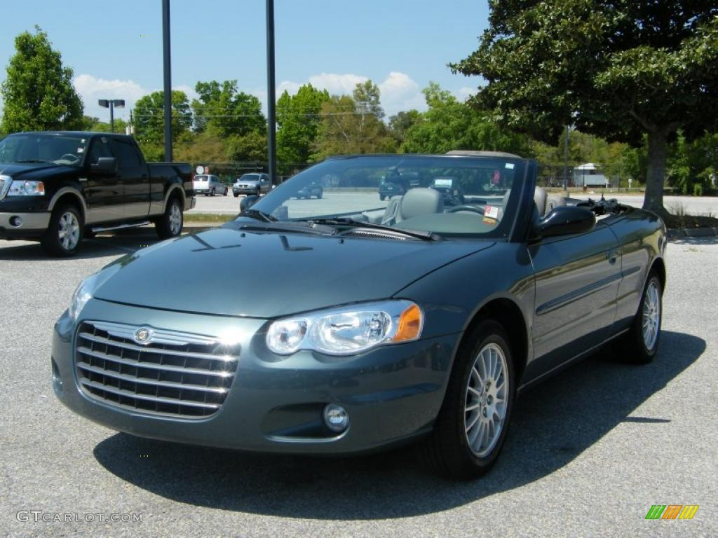 2006 magnesium pearl chrysler sebring touring convertible. Black Bedroom Furniture Sets. Home Design Ideas