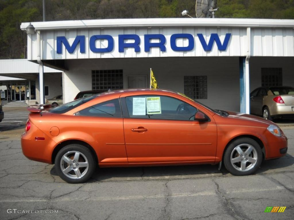 2005 sunburst orange metallic chevrolet cobalt ls coupe. Black Bedroom Furniture Sets. Home Design Ideas