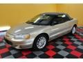 2001 Champagne Pearlcoat Chrysler Sebring LXi Convertible  photo #3