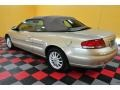 2001 Champagne Pearlcoat Chrysler Sebring LXi Convertible  photo #4