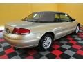 2001 Champagne Pearlcoat Chrysler Sebring LXi Convertible  photo #6