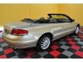 2001 Champagne Pearlcoat Chrysler Sebring LXi Convertible  photo #8