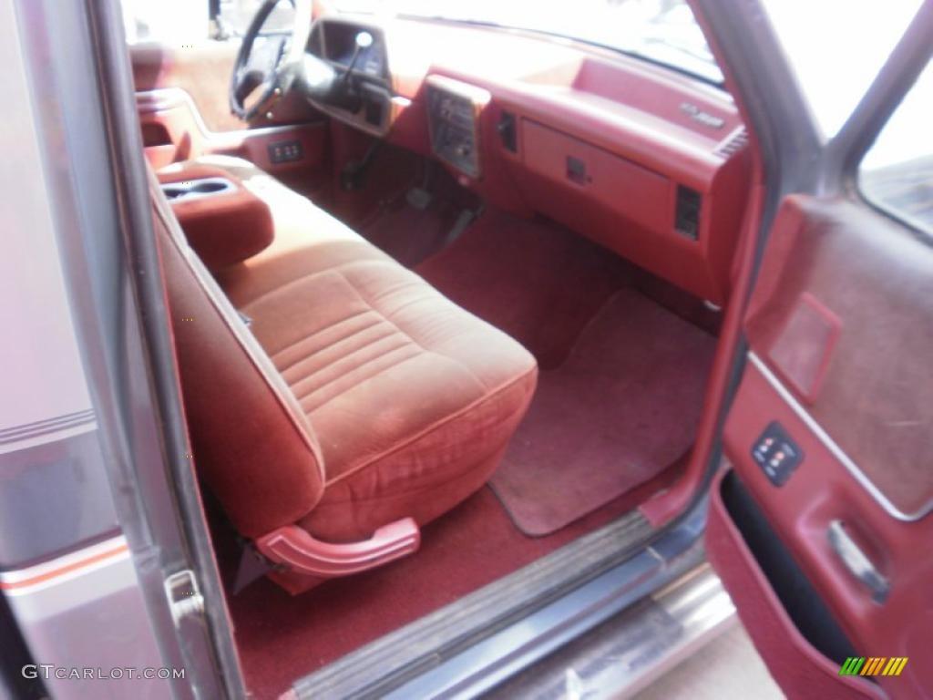 1987 smoke grey metallic ford f150 xlt regular cab 28659470 photo 6 car color. Black Bedroom Furniture Sets. Home Design Ideas