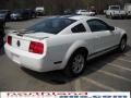 2007 Performance White Ford Mustang V6 Deluxe Coupe  photo #6