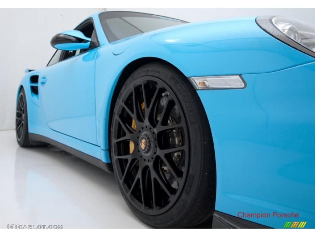 2010 light blue paint to sample porsche 911 turbo coupe. Black Bedroom Furniture Sets. Home Design Ideas
