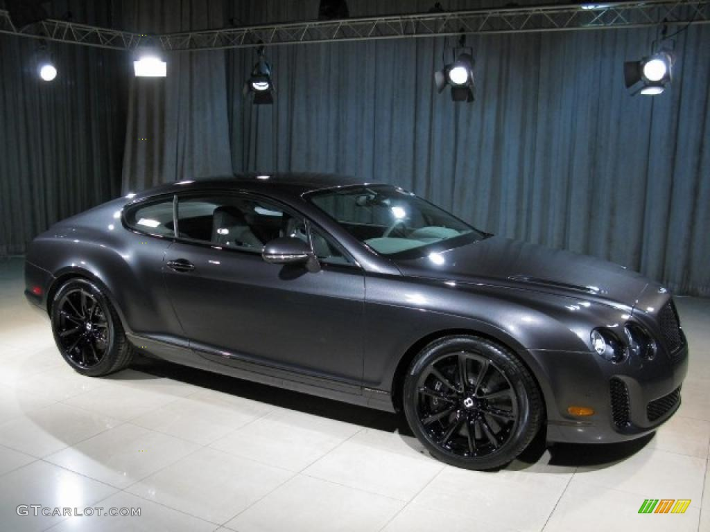 2010 anthracite bentley continental gt supersports 28706095 photo 3 car color. Black Bedroom Furniture Sets. Home Design Ideas