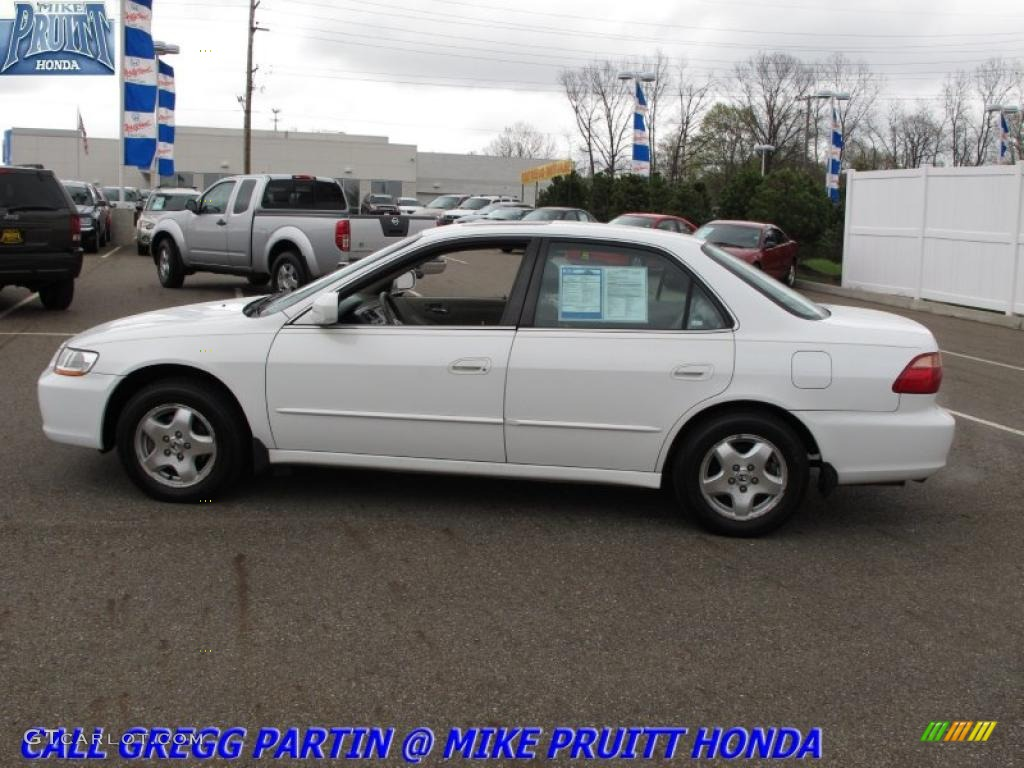 2000 Taffeta White Honda Accord Ex V6 Sedan 28723374