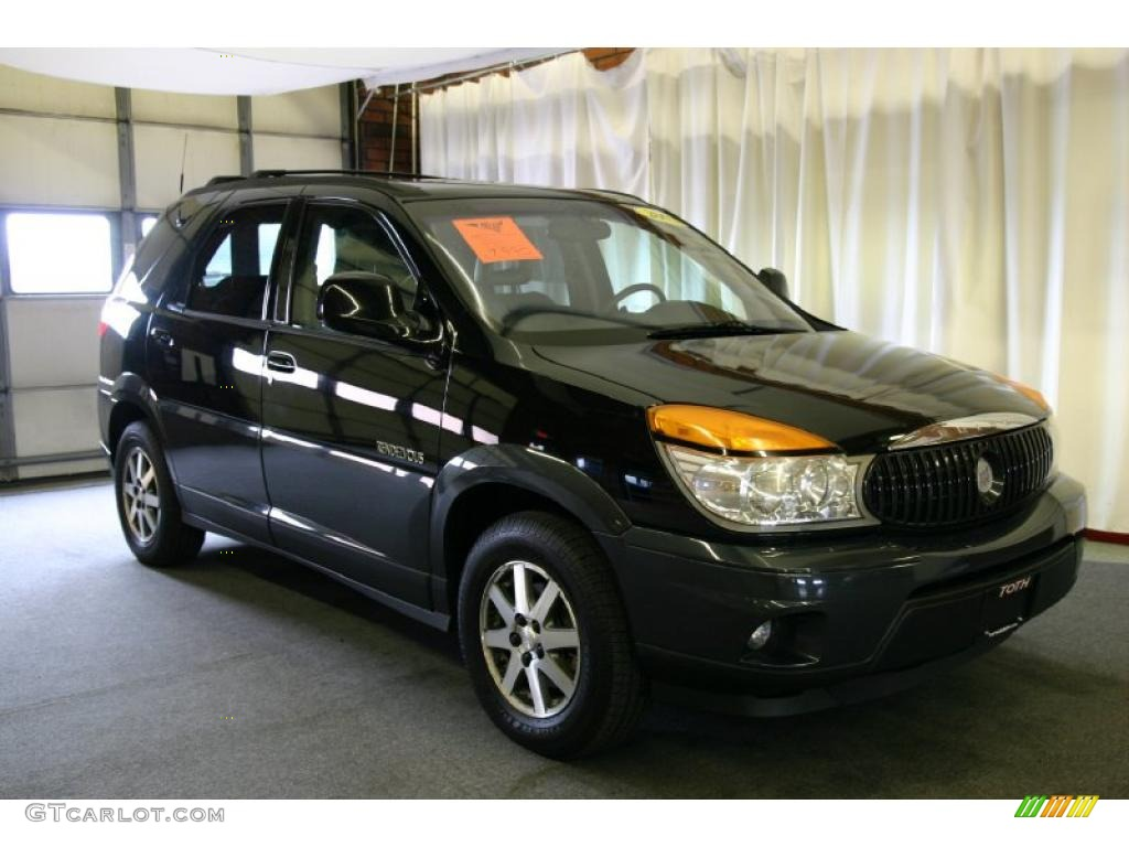 2002 black buick rendezvous cxl awd 28723592 photo 2. Black Bedroom Furniture Sets. Home Design Ideas