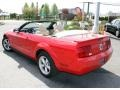 2007 Torch Red Ford Mustang V6 Premium Convertible  photo #10