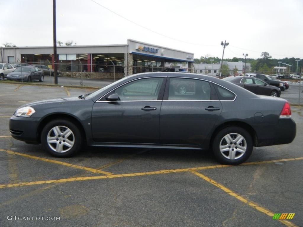 2010 Impala LS - Cyber Gray Metallic / Ebony photo #2