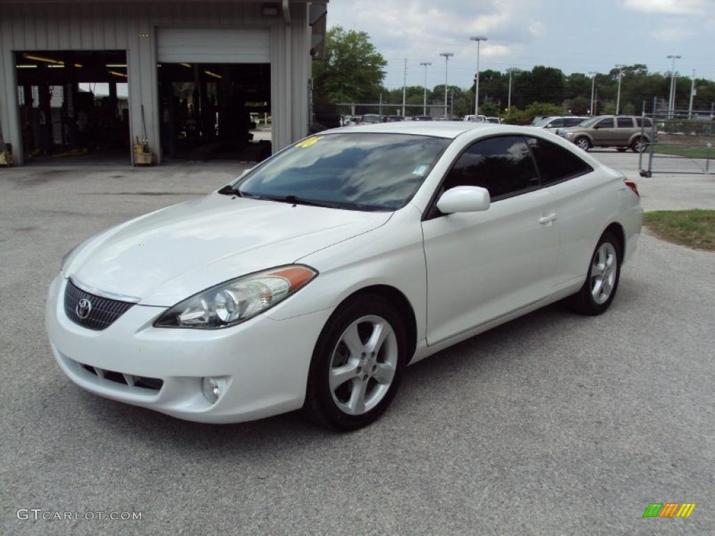 2006 Arctic Frost Pearl Toyota Solara Se V6 Coupe