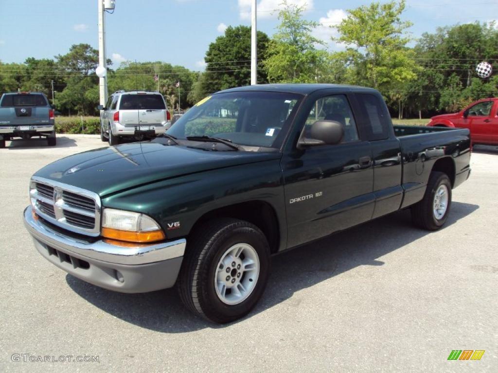 on 1999 Dodge Dakota Blue