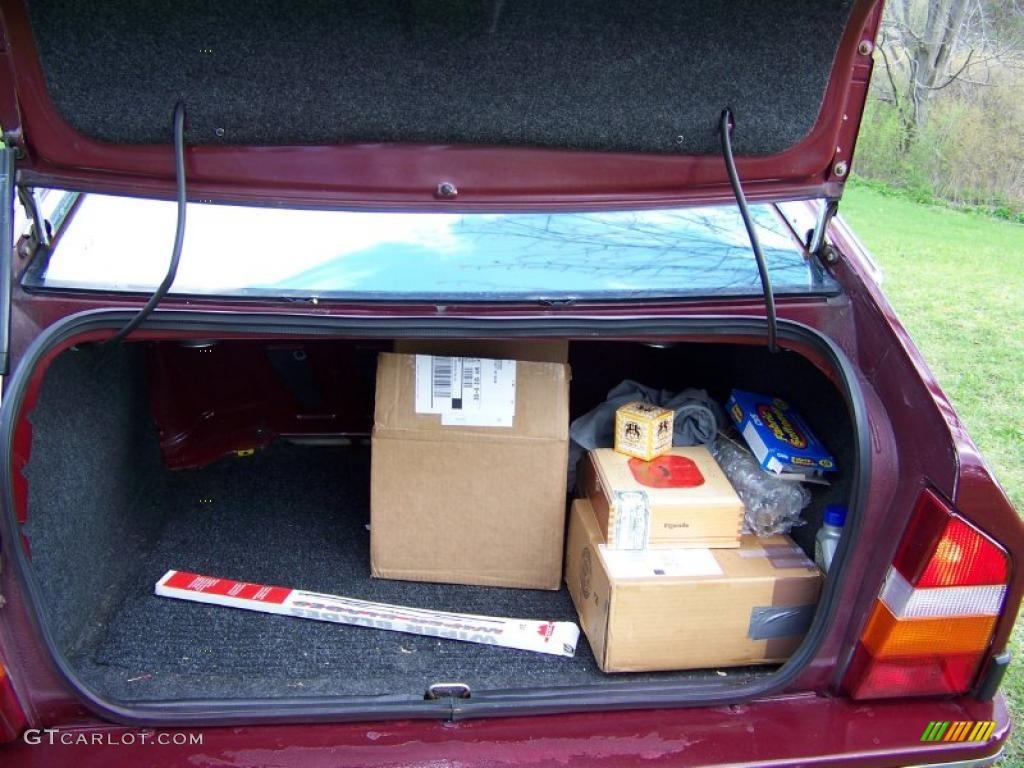 Engine And Transmission World >> 1988 Citroen CX 25 GTi Trunk Photo #28879170 | GTCarLot.com
