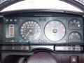 1988 CX 25 GTi 25 GTi Gauges