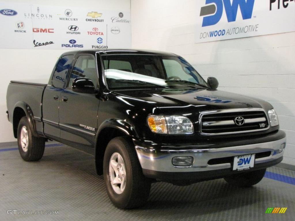 2001 black toyota tundra limited extended cab 28875129 car color galleries. Black Bedroom Furniture Sets. Home Design Ideas