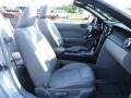 2007 Satin Silver Metallic Ford Mustang V6 Premium Convertible  photo #19