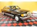 Black 1987 Mercedes-Benz S Class 420 SEL