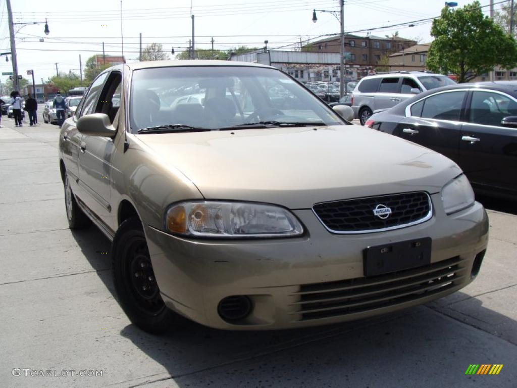 2001 iced cappuccino nissan sentra gxe 28875309. Black Bedroom Furniture Sets. Home Design Ideas