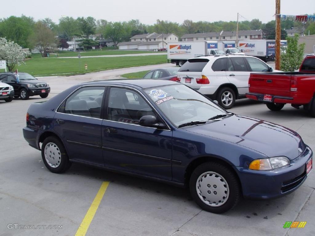 1995 harvard blue pearl honda civic lx sedan 28936794 photo 3 car color galleries. Black Bedroom Furniture Sets. Home Design Ideas