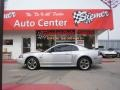 2001 Silver Metallic Ford Mustang GT Coupe  photo #2