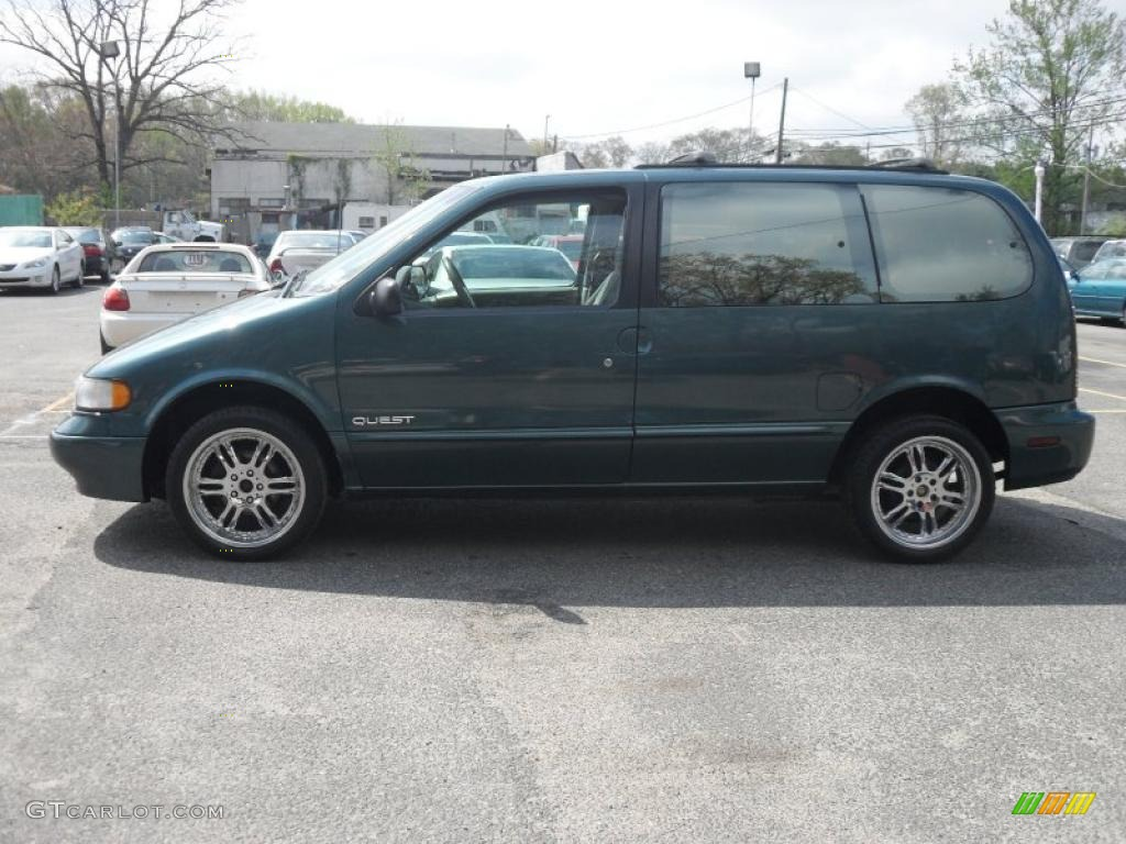 1997 light argentine green metallic nissan quest xe 28936664 photo 8 gtcarlot com car color galleries gtcarlot com