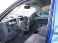 2008 Electric Blue Pearl Dodge Ram 3500 Laramie Quad Cab 4x4  photo #4