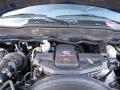 2008 Electric Blue Pearl Dodge Ram 3500 Laramie Quad Cab 4x4  photo #16