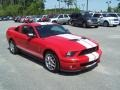 2007 Torch Red Ford Mustang Shelby GT500 Coupe  photo #3