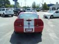 2007 Torch Red Ford Mustang Shelby GT500 Coupe  photo #6