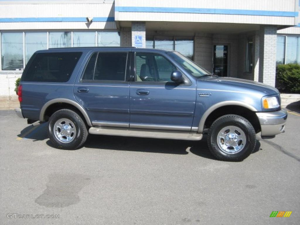 Medium wedgewood blue metallic ford expedition