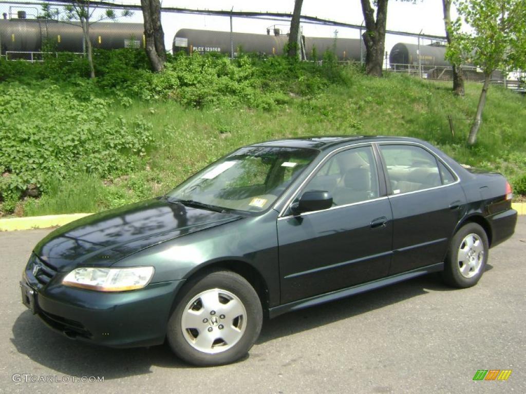 Honda Accord Lx 2001 Dark Emerald Pearl Honda Accord EX V6 Sedan #28936903 ...