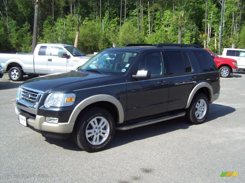 Black pearl slate metallic ford explorer