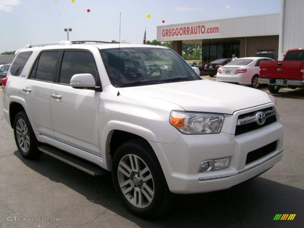 2010 Blizzard White Pearl Toyota 4runner Limited 4x4 28936922 Gtcarlot Com Car Color Galleries