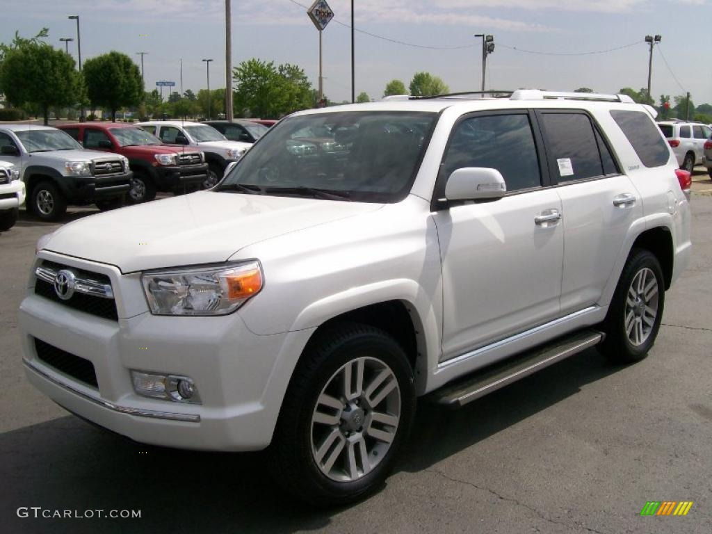 2010 Blizzard White Pearl Toyota 4runner Limited 4x4 28936922 Photo 2 Gtcarlot Com Car Color Galleries