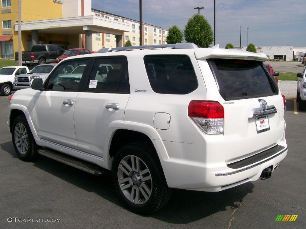 2010 Blizzard White Pearl Toyota 4runner Limited 4x4 28936922 Photo 3 Gtcarlot Com Car Color Galleries