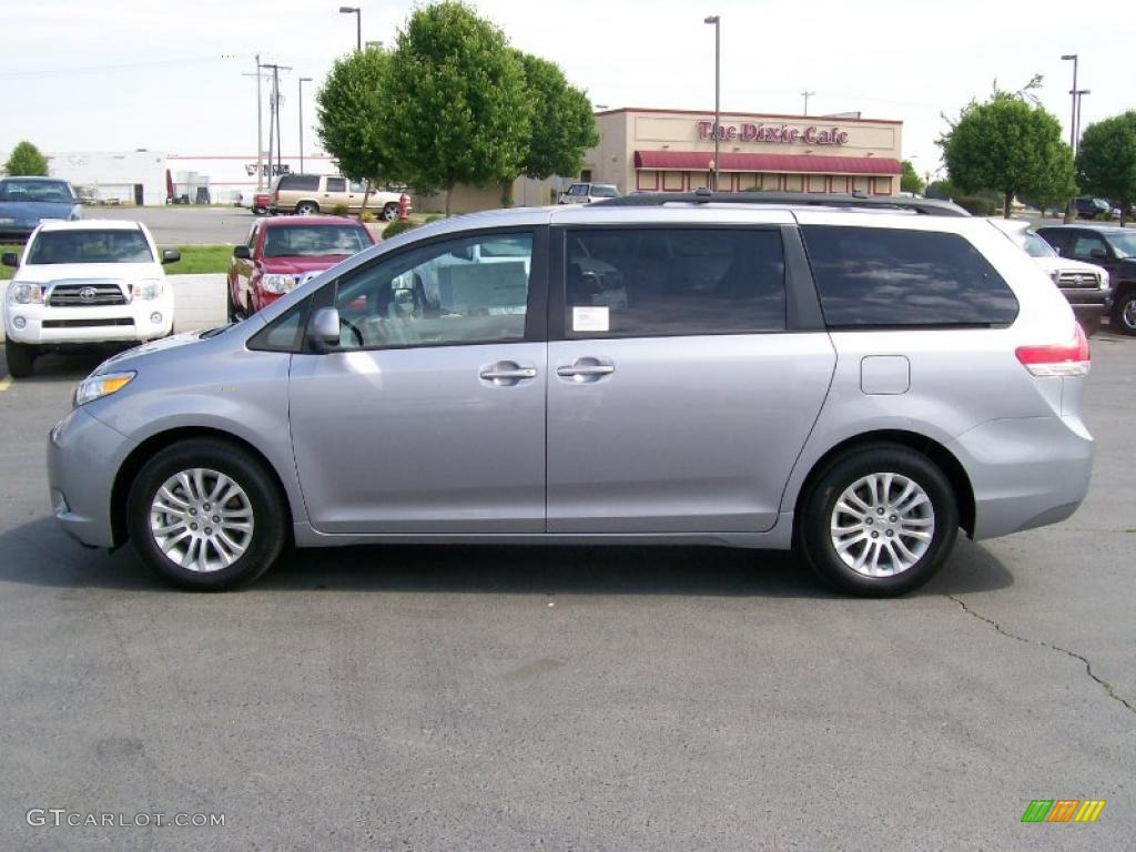 2011 silver sky metallic toyota sienna xle 28936941 photo Toyota Tundra Color Codes Toyota Sienna Color Chart