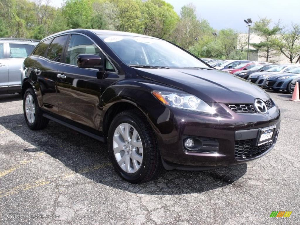 2007 black cherry mica mazda cx 7 grand touring awd. Black Bedroom Furniture Sets. Home Design Ideas