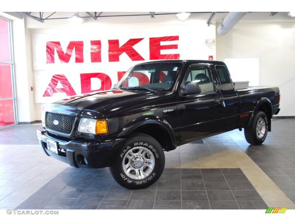 Black ford ranger ford ranger edge supercab