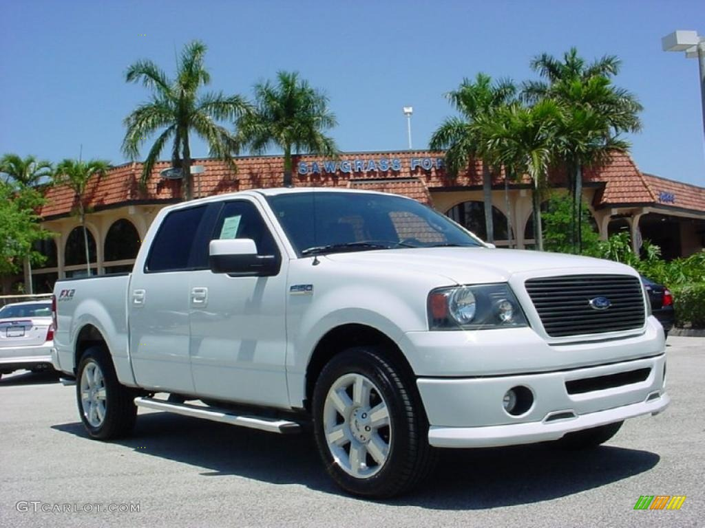 2007 oxford white ford f150 fx2 sport supercrew 29004666 car color galleries. Black Bedroom Furniture Sets. Home Design Ideas