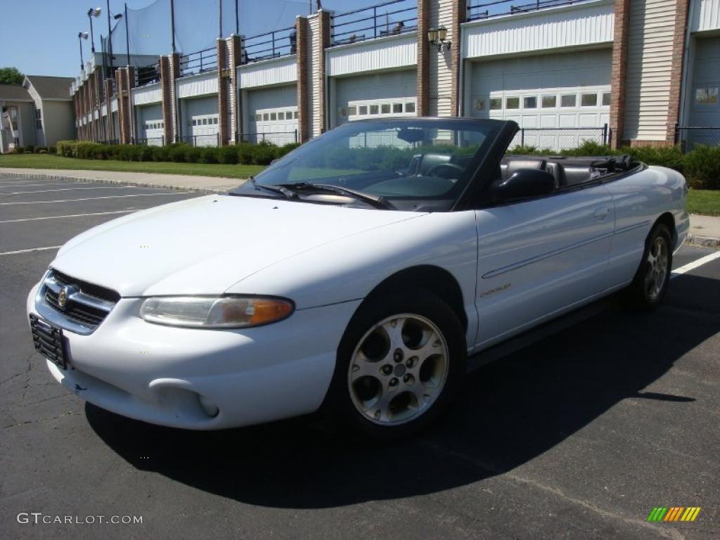 1998 Bright White Chrysler Sebring Jxi Convertible 29005085
