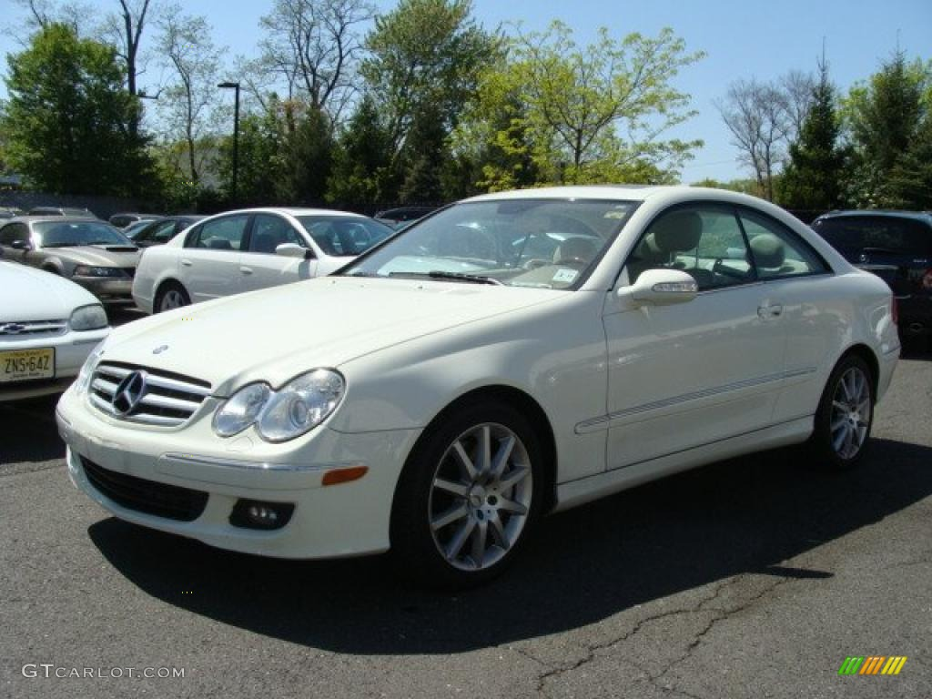 2007 arctic white mercedes benz clk 350 coupe 29004563 for 2007 mercedes benz clk