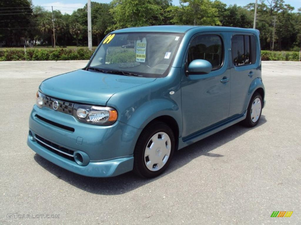 2009 Caribbean Blue Nissan Cube 1 8 S 29005211 Gtcarlot