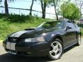 2002 Black Ford Mustang GT Coupe  photo #2