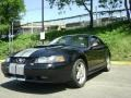 2002 Black Ford Mustang GT Coupe  photo #4