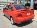 2005 Infra-Red Ford Focus ZX4 ST Sedan  photo #3
