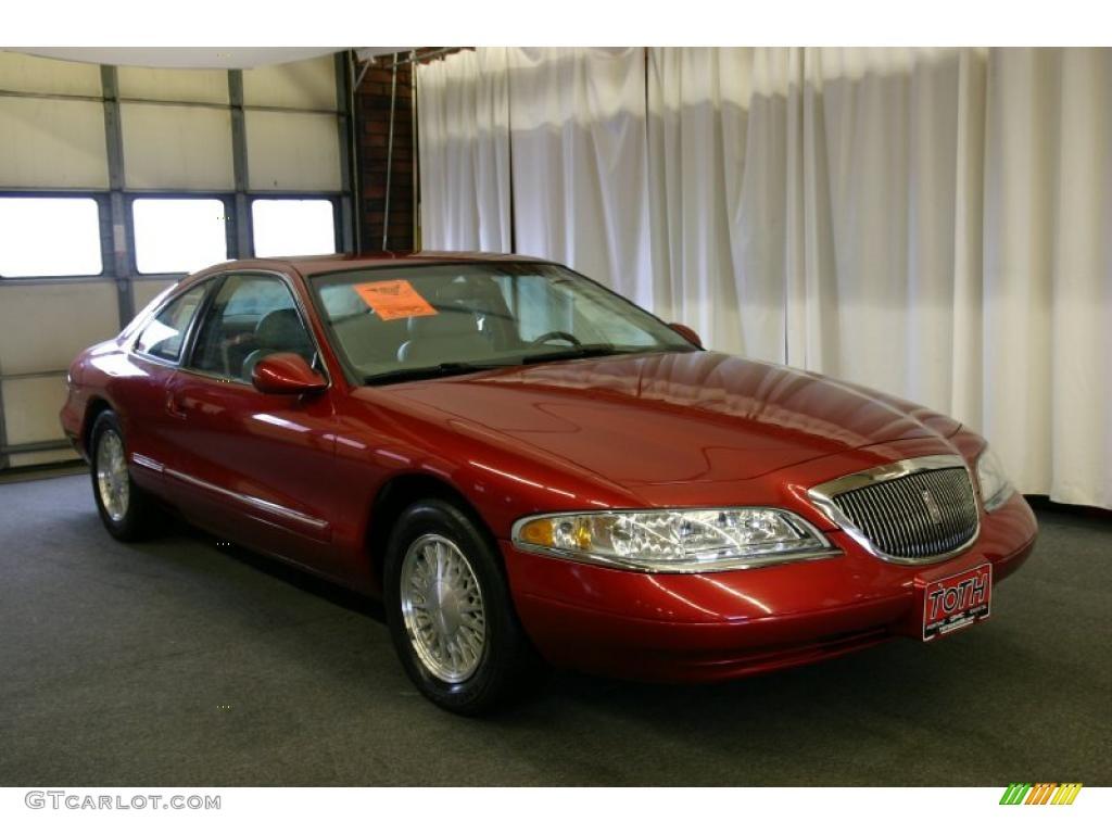1998 Toreador Red Metallic Lincoln Mark Viii  29064700