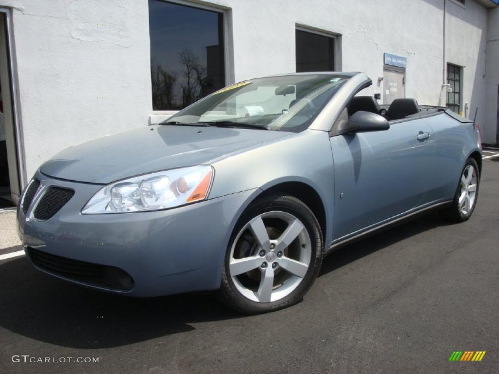 2007 Blue Gold Crystal Metallic Pontiac G6 Gt Convertible